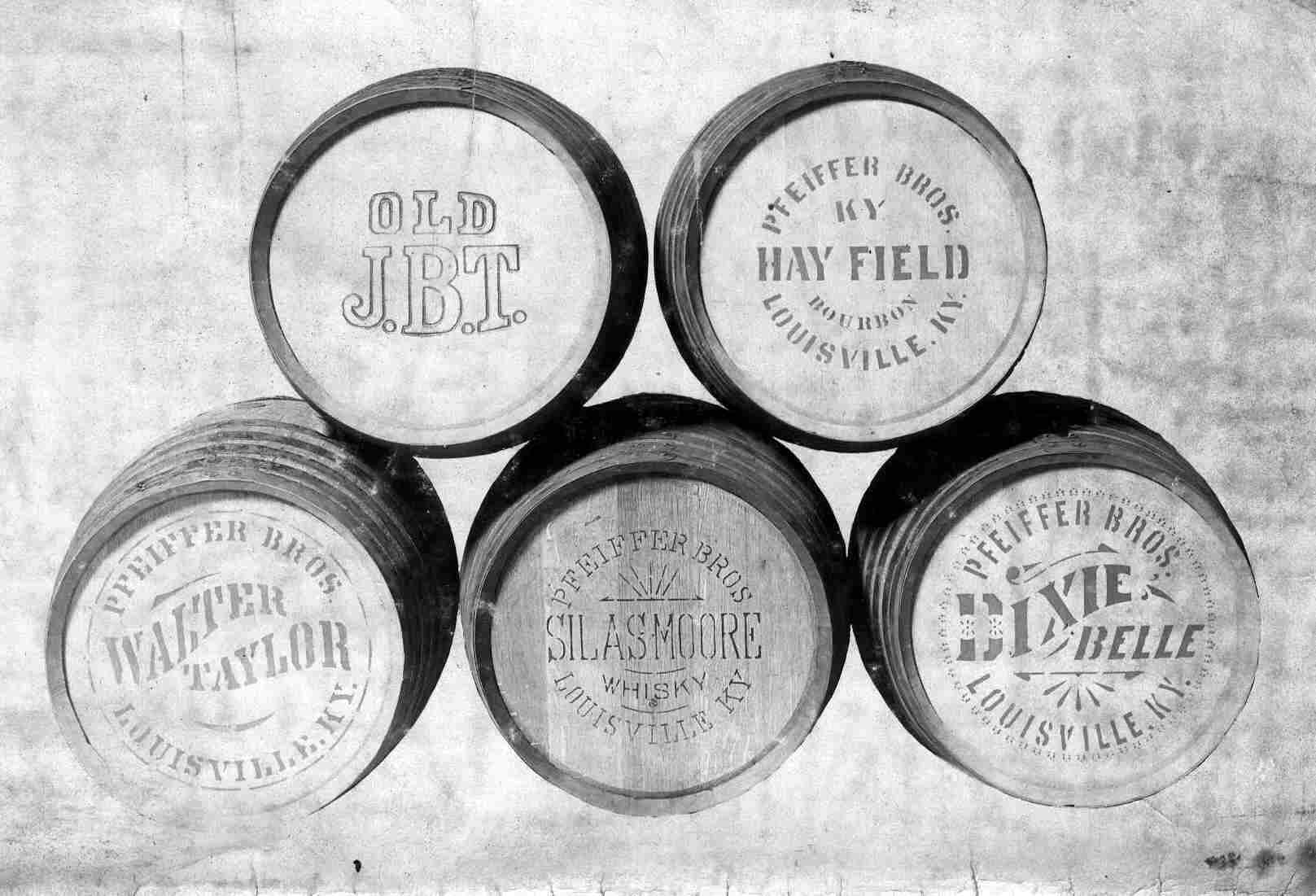 BARRELS Get InfoWhiskey Barrel Drawing